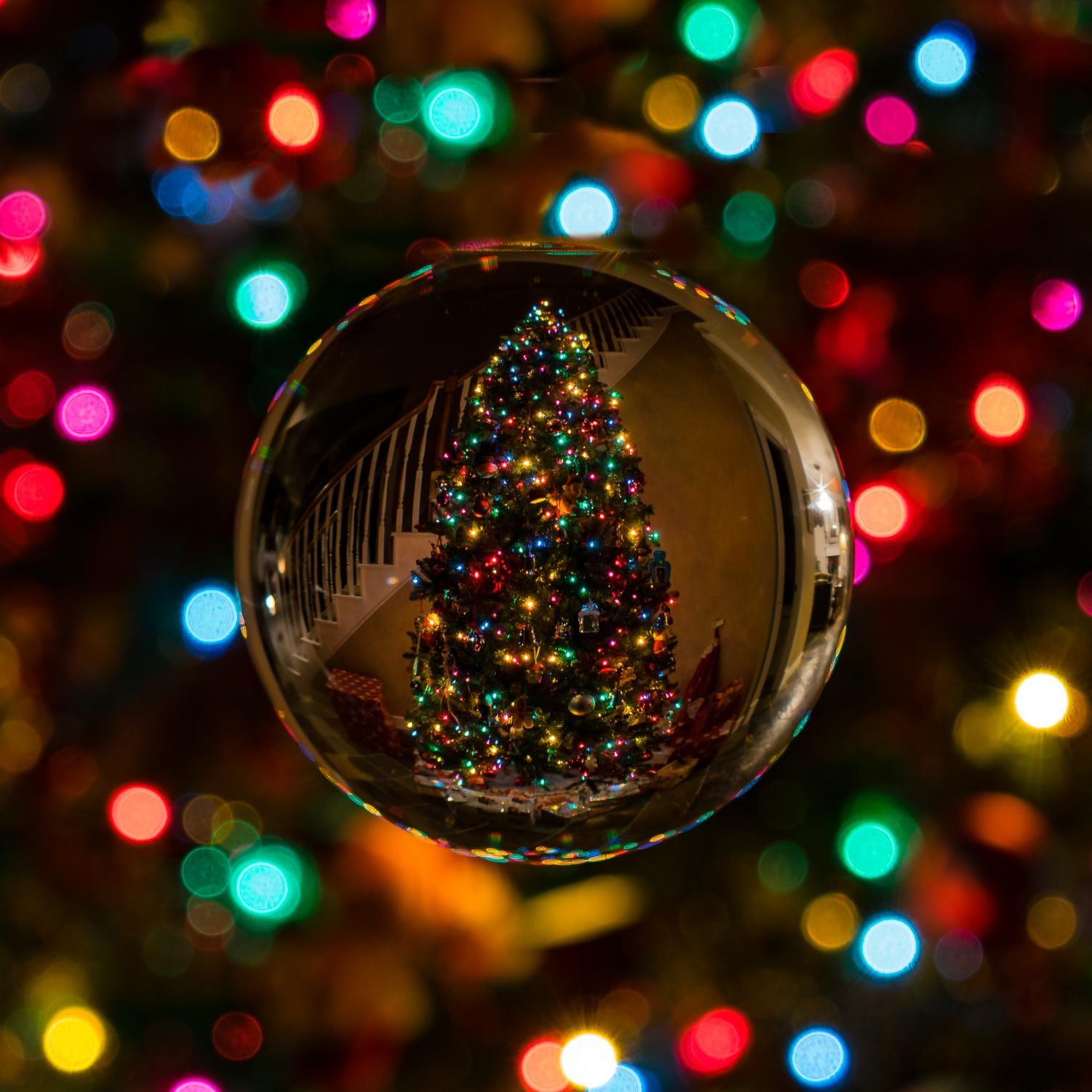 The Christmas tree is one of the most popular decorations put up to celebrate Christmas.