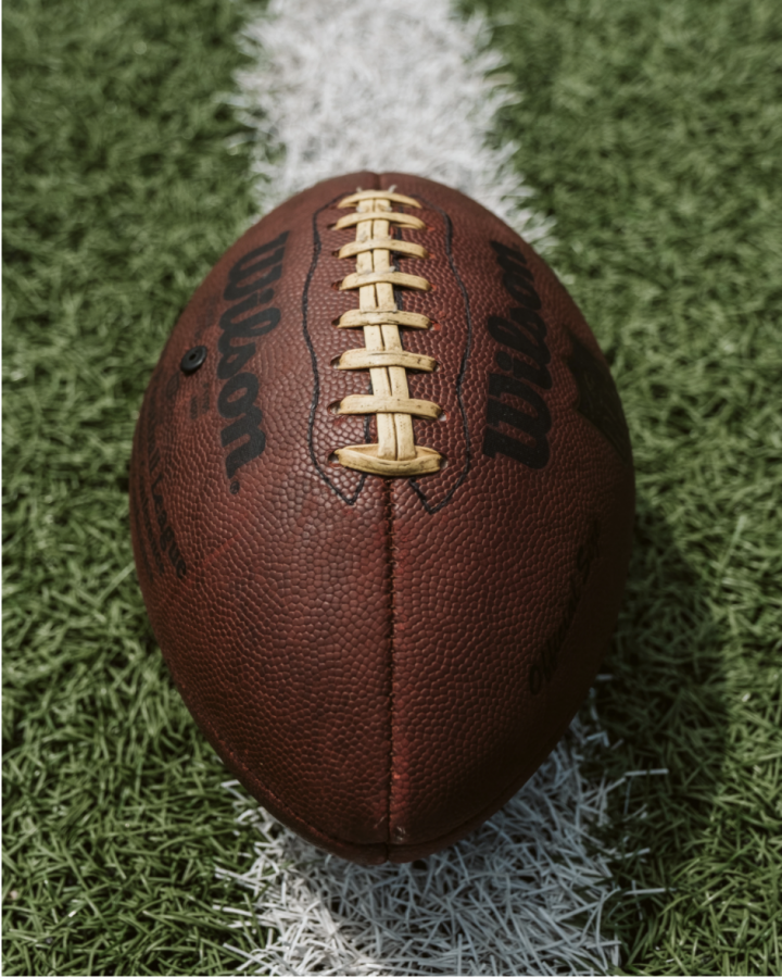 The classic 'Wilson' football represents the age-old championship