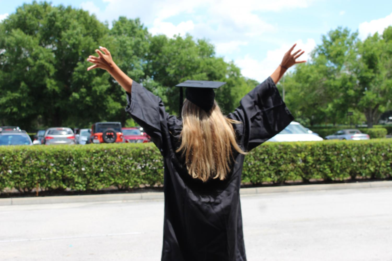 Seniors will walk away May 15 with graduation complete.