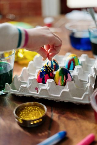 Egg painting is one of the most common pagan traditions.